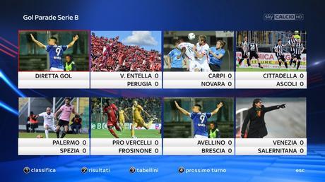Serie B, Sky Sport Diretta 21a Giornata - Palinsesto e Telecronisti Calcio #NuovoInizio