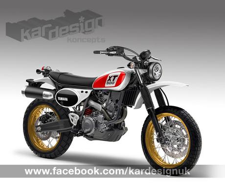 Design Corner - Yamaha XT 500 by Kardesign