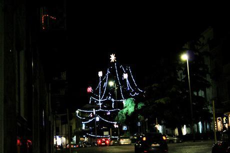 albero di Natale, Natale 2017, Natale, Ruvo di Puglia, piazza Bovio, luminarie