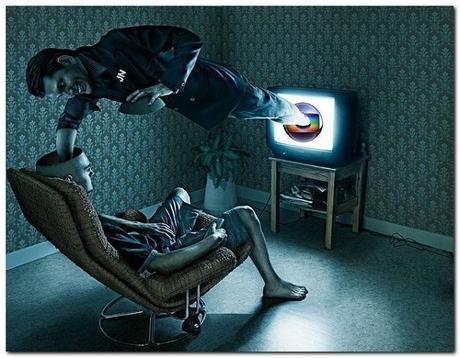 manipolazione mentale tv