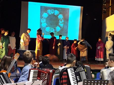 CROSIA Codice Purpureo rossanese, l'Istituto comprensivo realizza i tableaux vivants