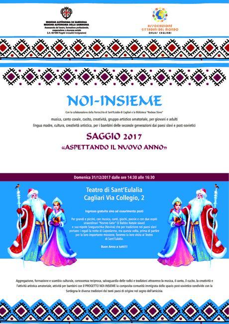 PROGETTO NOI-INSIEME: attività culturali di aggregazione della comunità immigrata