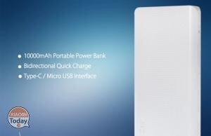 Codice Sconto – ZMI Power Bank da 10000 mAh BLACK a 14€