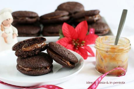 Sandwich cookies con Dulce de leche