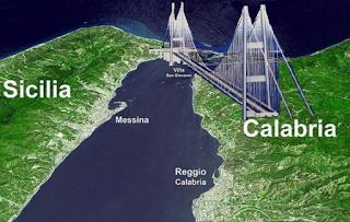 C'è una 'finestra' nel mar Iono che allontana Calabria e Sicilia. Rischio terremoti.