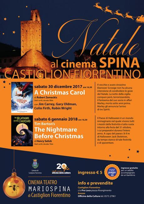 Cinema d'animazione al Teatro Spina per il Natale di Castiglion Fiorentino