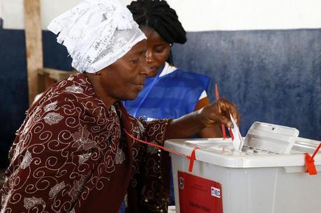 Risultati immagini per seggi in liberia