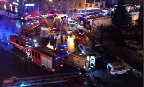 San Pietroburgo, esplode una bomba in un supermercato: 10 feriti