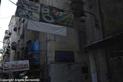 Le passeggiate di Brigida: Napoli - le rampe di Pizzofalcone
