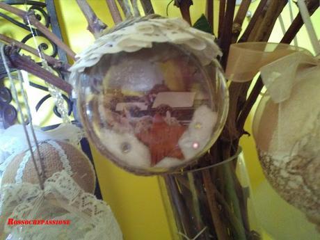 Le mie sfere per un Natale vintage.
