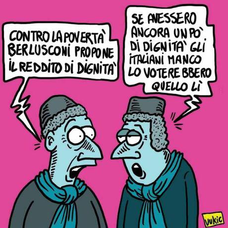 Marco Vukic – Berlusconi e la dignità