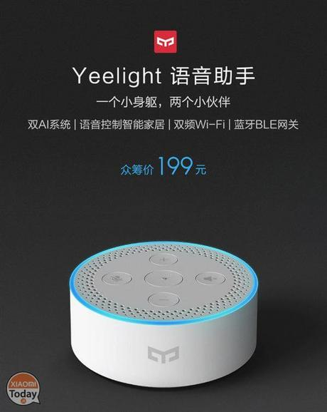 yeelight voice