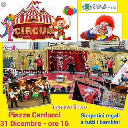 A Grottammare un pomeriggio con il circo aspettando il nuovo anno
