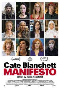 Il MANIFESTO: su Sky Arte HD i 13 volti di Cate Blanchett