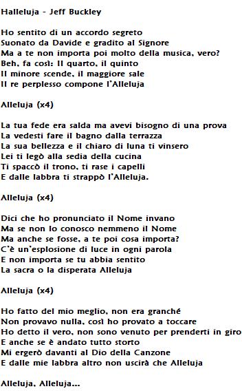 Hallelujah di Jeff Buckley: testo, traduzione, accordi e significato