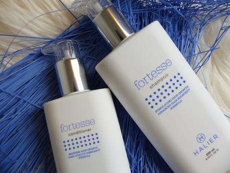 Halier prodotti per capelli FORTESSE e HAIRVITY
