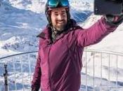 Selfie sicuro montagna