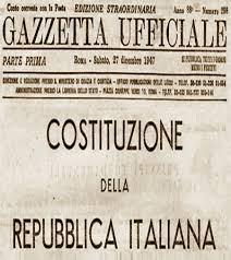 I PRIMI 70 ANNI DELLA COSTITUZIONE ITALIANA