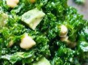 Kale ceci insalata lime