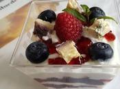 Coppette yogurt greco Bluedessert Frutti Bosco