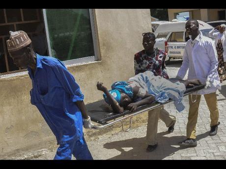 Risultati immagini per maiduguri attacco alla moschea