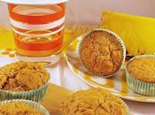 Muffins integrali all'ananas zenzero (senza zucchero)