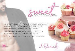"""Segnalazione a """"SWEET: Una dolce conquista"""" di J. Daniels"""