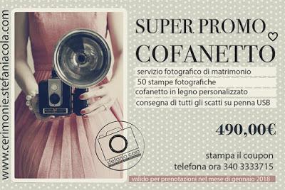Il Wedding Coupon della fotografa Stefania Cola di Ancona