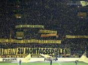 """Ultras Borussia Dortmund contro Monday night: calcio vive nello stadio, televisione!"""""""