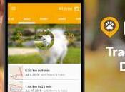Walk Android traccia passeggiate fatte cane