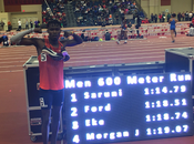 Record Mondo Michael Saruni metri indoor- video