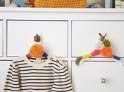 DIY: grucce fili colorati lana cameretta!