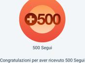 Grazie, 500…