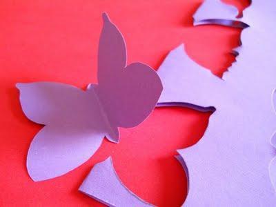 Decorare una parete con le farfalle decorating with - Decorare una parete ...