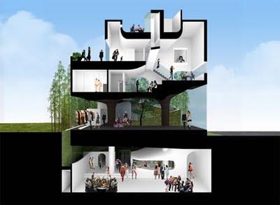 L 39 architettura si ricopre di verde paperblog for Architettura verde