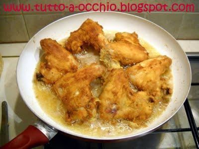 Quando cucina lui - Alette di pollo impanate