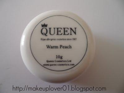 Queen Cosmetics Tinted Foundation Cream REVIEW + SWATCH