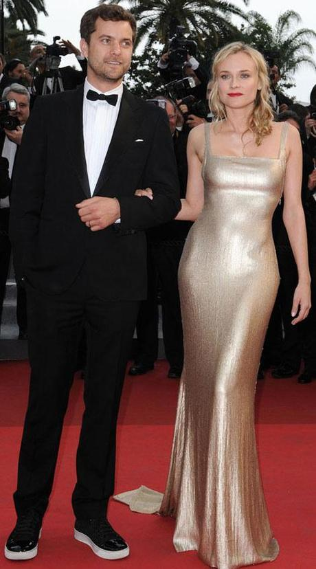 Diane-Kruger-Calvin-Klein-golden-dress-Cannes-2011-Joshua-Jackson