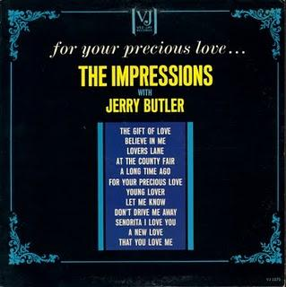 (1963) THE IMPRESSIONS with JERRY BUTLER (1963) recording 1958
