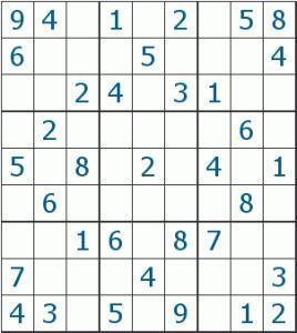 Giocare al sudoku online paperblog for Sudoku facile da stampare