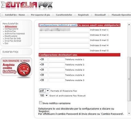 Fax 03 Ricevere Fax Gratis via Email