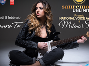 Milena Setola premiata Casa Sanremo National Voice Awards
