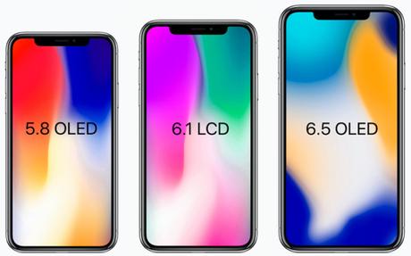 Tre nuovi iPhone nel 2018, due con Display OLED e uno con display LCD [Aggiornato x1 – Novità]