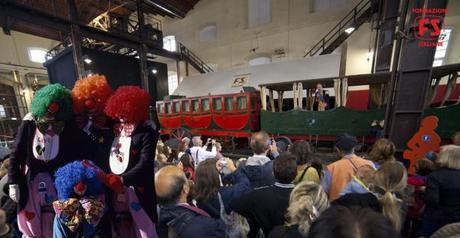 Carnevale al Museo di Pietrarsa: giochi, pentolaccia con sorprese e ballo borbonico