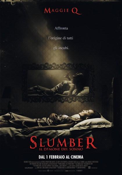 Locandina italiana Slumber - Il demone del sonno