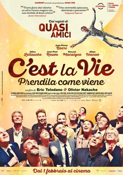 Locandina italiana C'est la vie - Prendila come viene