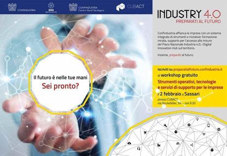 Industry 4.0: il 2 febbraio unica tappa regionale a Sassari