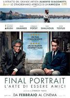Final Portrait, il nuovo Film della BIM