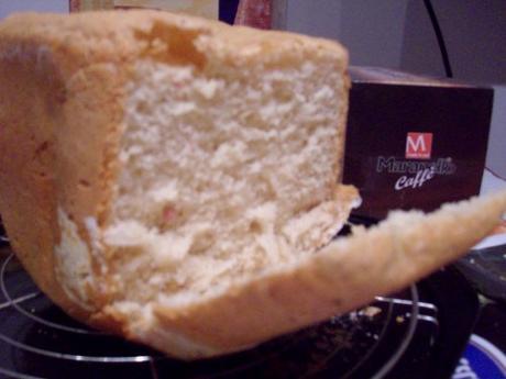 Pane Al Parmigiano e Prosciutto Cotto con la mdp