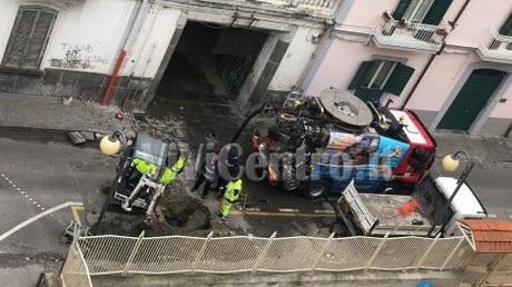 FOTO ViViCentro, Aggiornamenti –  Castellammare, traffico in tilt: ambulanza resta bloccata